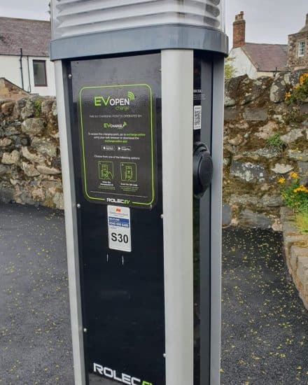 Charging point detail